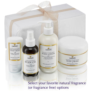 Seeds of Change Gift wrapped gift set from Seed Body Care