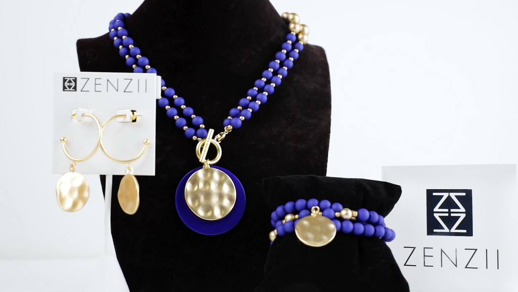 Color of the Year Classic Blue in Fashion Jewelry