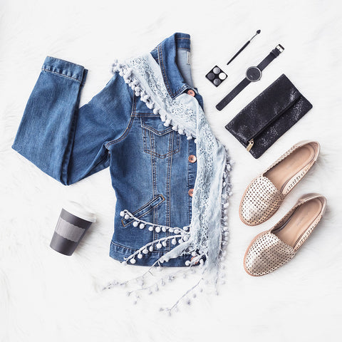 style you r cotton tunic top with denim