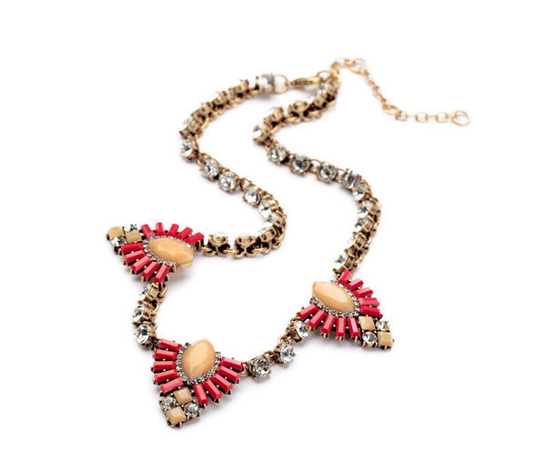 Ruby Western Statement Necklace
