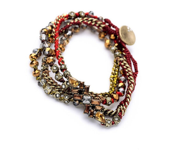 Rad Rock Bracelet - Red