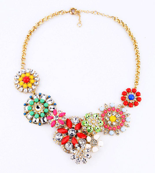 Bling Garden Necklace - Girl Intuitive