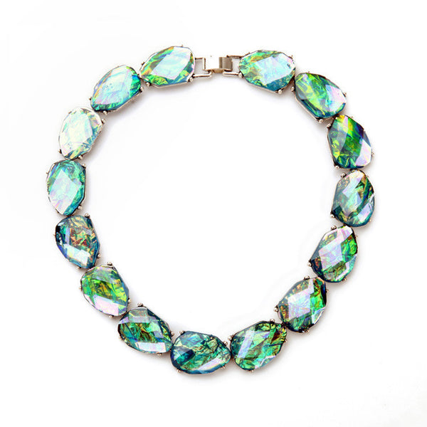 Abalone Collar Necklace - Girl Intuitive