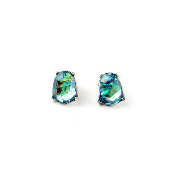 Abalone Earring Studs - Girl Intuitive