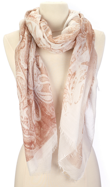 Abstract Swirls Scarf - Girl Intuitive