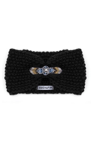Amenapih Foxy Black Headband