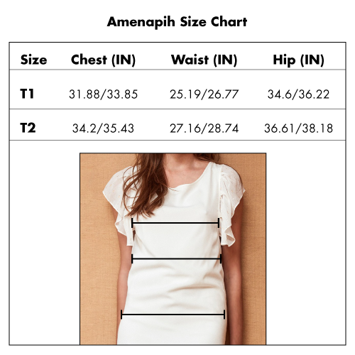 Amenapih Dress Size Chart