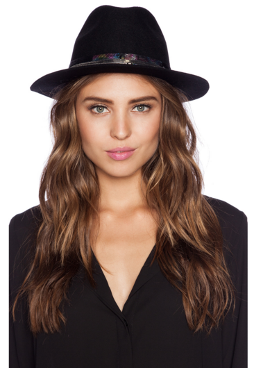 Amenapih Heady Black Hat - Girl Intuitive
