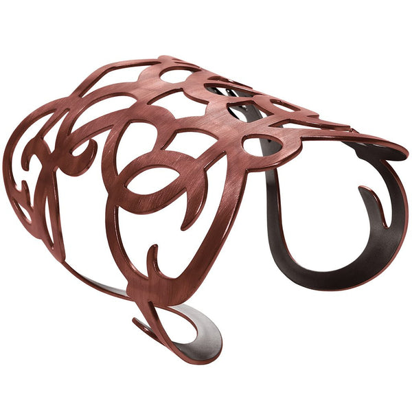 Angela Cuff Bracelet in Copper - Girl Intuitive