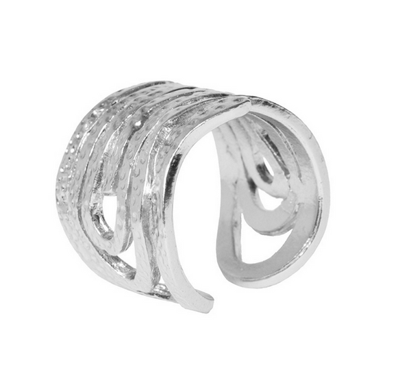 Angelina Ring in Silver - Girl Intuitive