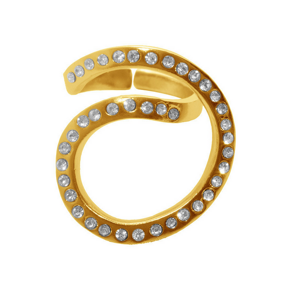 Ariel Ring in Gold - Girl Intuitive