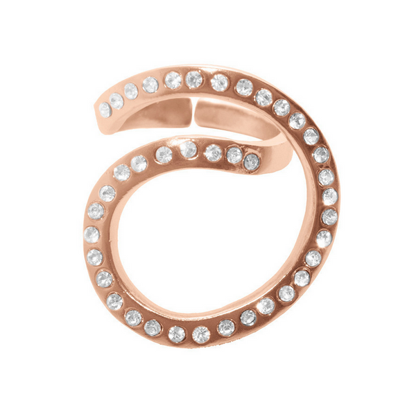 Ariel Ring in Rose Gold - Girl Intuitive