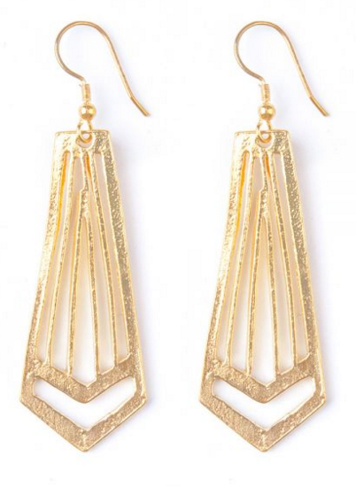 Artemis Earrings in Gold - Girl Intuitive