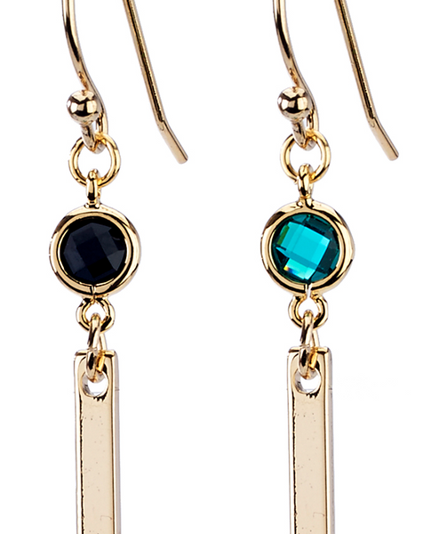 Bar Simple Earrings - Girl Intuitive