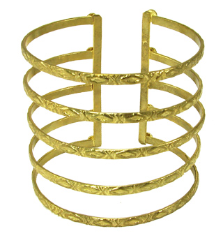 Baroque Cuff Gold - Girl Intuitive