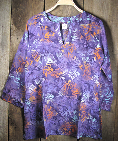 Batik Tunics Lush in Plum - Girl Intuitive