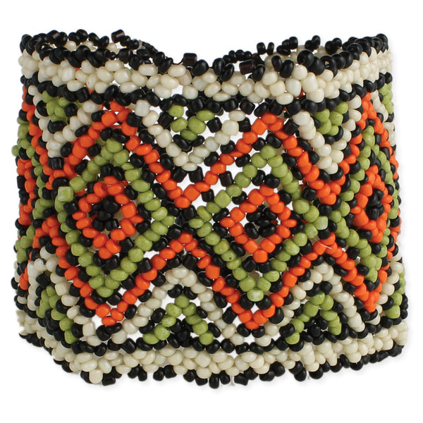 Beaded Tribal Stretch Bracelet - Girl Intuitive