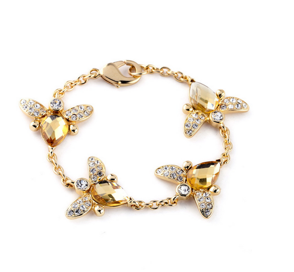 Bee-Jeweled Bracelet