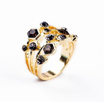 Ring - Black Hive Ring - Girl Intuitive - China -