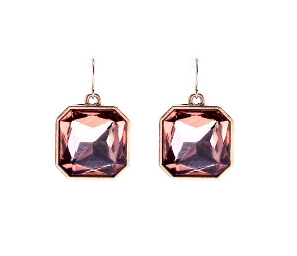 Blush Dangle Earrings - Girl Intuitive