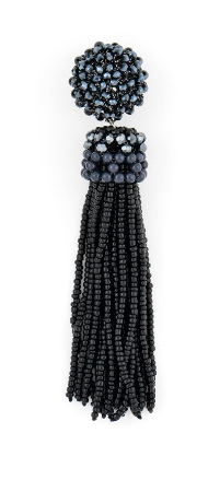Breakaway Tassel Earrings black