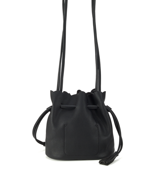 Bucket Crossbody Bag Black - Girl Intuitive