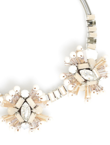 Crystal Metamorphosis Necklace Peach