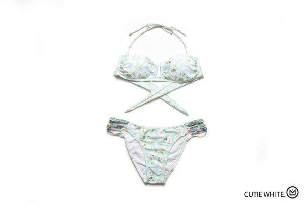 Amenapih Cutie White Swimwsuit - Girl Intuitive