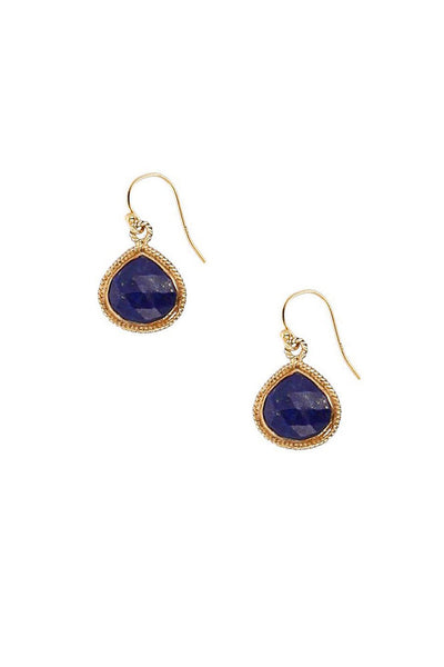 Chan Luu Lapis Drop Earrings