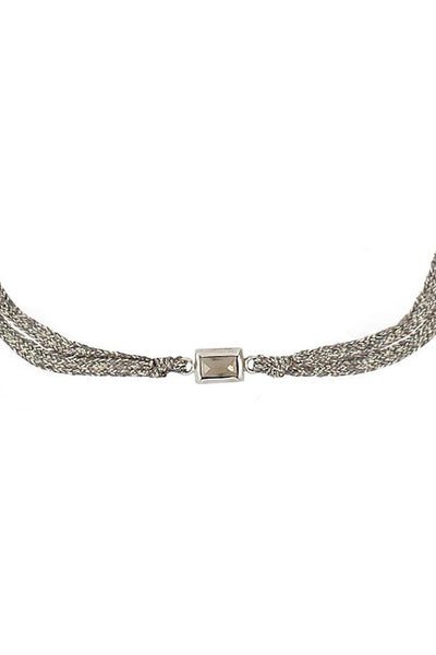 Choker pyrite center