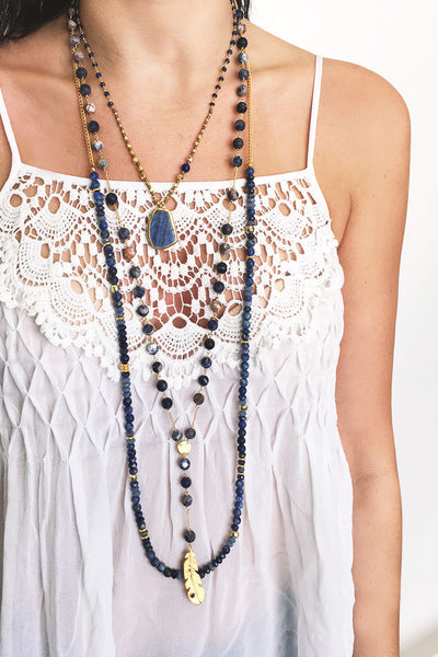 Layered Chan Luu Necklaces
