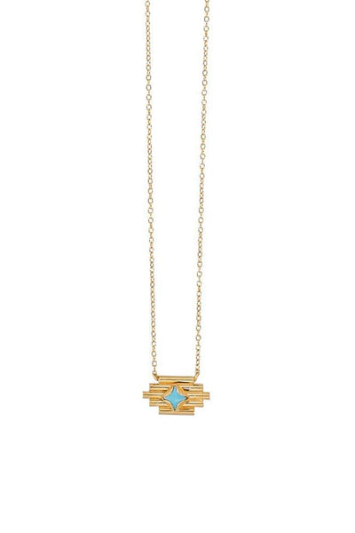 Chan Luu Turquoise Santa Fe Necklace