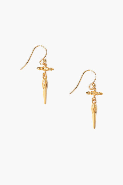 Chan Luu Gold Cross Earrings