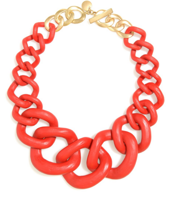 Chunky Links Statement Necklace Fiesta