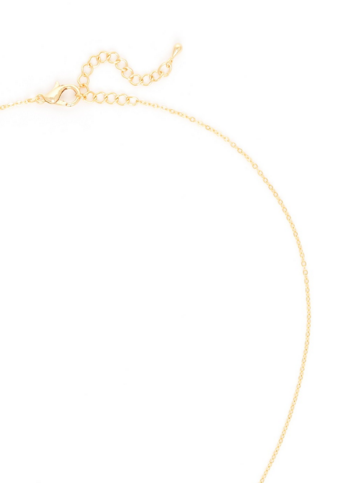 Circle Swing Necklace back