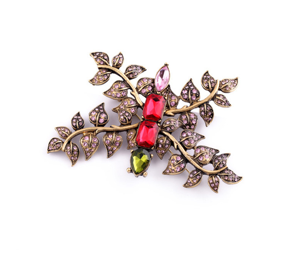Colorful Gems Brooch