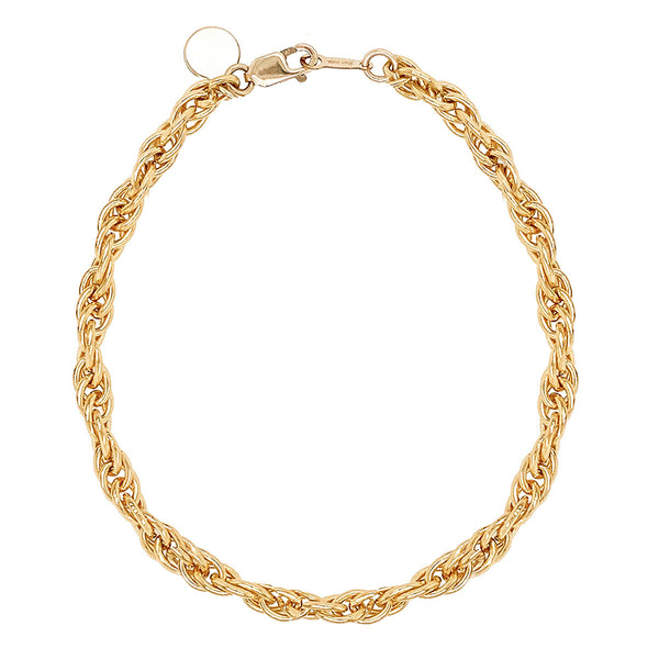 bracelet - Corinne Chain Bracelet Gold Filled - Girl Intuitive - Mod + Jo -