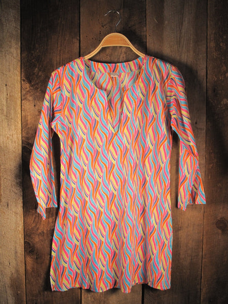 Cotton Print Tunic Multicolor