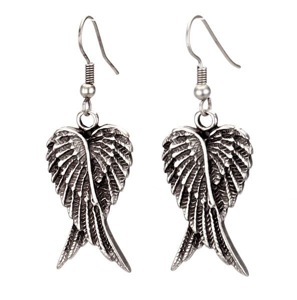 Crossover Wing Earrings