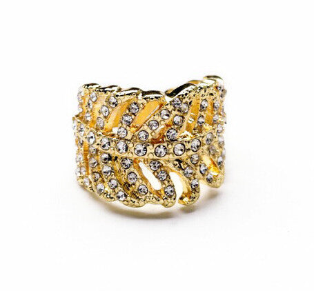 Ring - Crystal Glam Ring - Girl Intuitive - China -