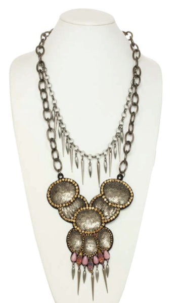 Layered Eccentric Long Necklace