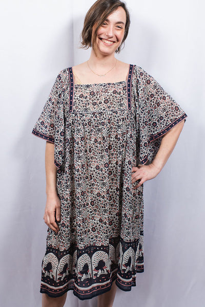Dolma Oversized Butterfly Sleeve Dress