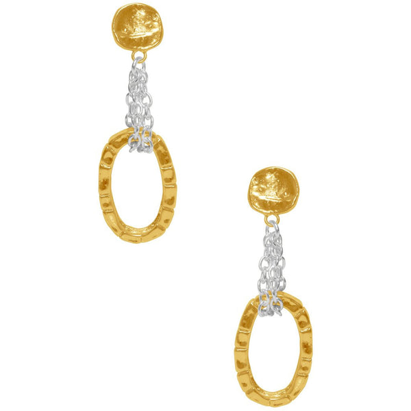 Eleanore Earrings gold