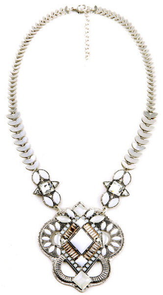 Garbo Bib Statement Necklace
