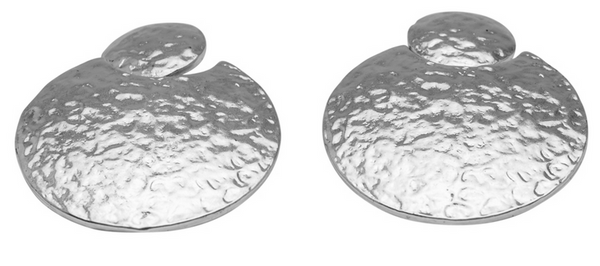 Hammered Discs Earrings s