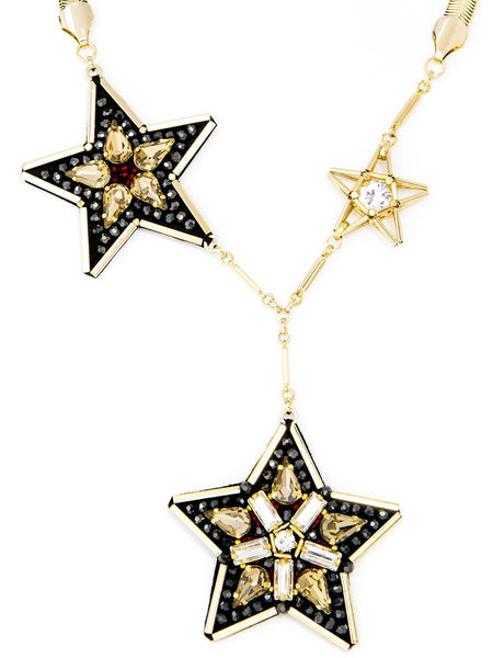 Handmade Leather Star Necklace