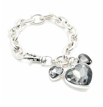 Heart Will Go On Bracelet black