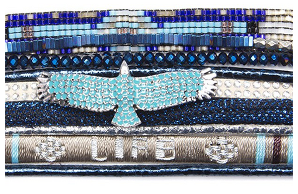 Hipanema BlueLife Bracelet eagle