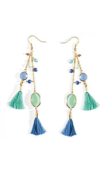 Hipanema Pampilles Blue Earrings