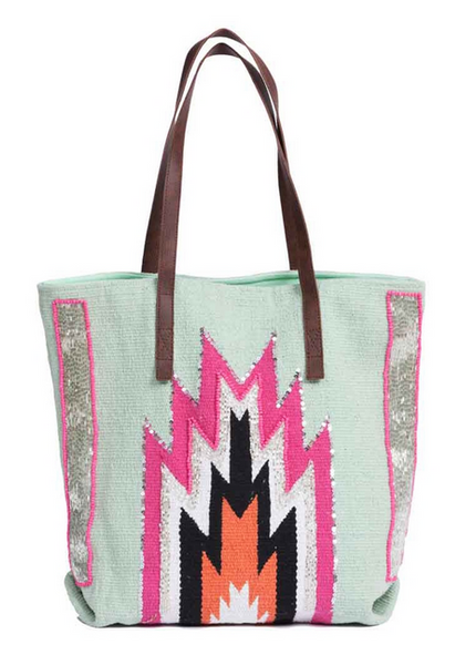 Hipanema Peruano Bag - Sky